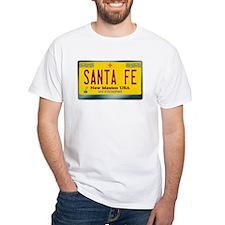 """SANTA FE"" New Mexico License Plate Shirt"