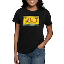 """SANTA FE"" New Mexico License Plate Tee"