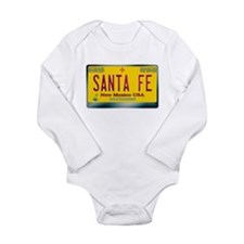 """SANTA FE"" New Mexico License Plate Long Sleeve In"