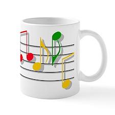 Musical Notes Small Mugs