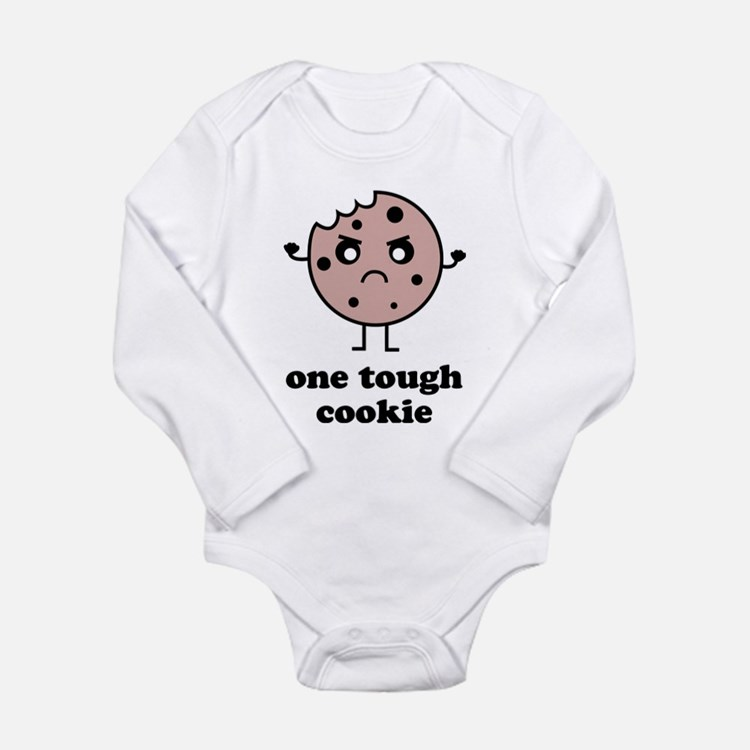 One Tough Cookie Long Sleeve Infant Bodysuit