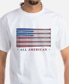Baseball Flag Shirt