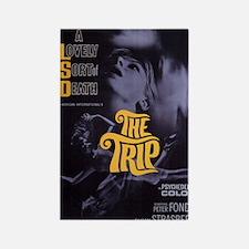 """LSD drug """"The Trip"""" hippie poster Magnet"""