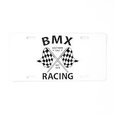 Vintage BMX Racing Aluminum License Plate