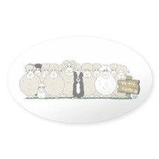 Sheep Family Decal