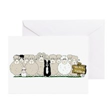 Sheep Family Greeting Cards (Pk of 20)
