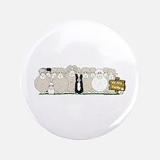 """Sheep Family 3.5"""" Button"""