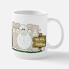 Sheep Family Mug