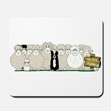 Sheep Family Mousepad