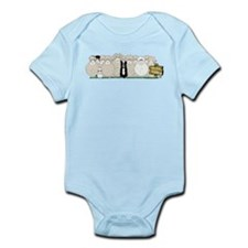 Sheep Family Infant Bodysuit