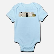Sheep Family Infant Bodysuit