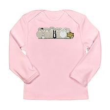 Sheep Family Long Sleeve Infant T-Shirt