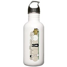 Sheep Family Water Bottle