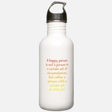 Happy Person Water Bottle