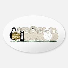 Prairie Elementary Sticker (Oval)