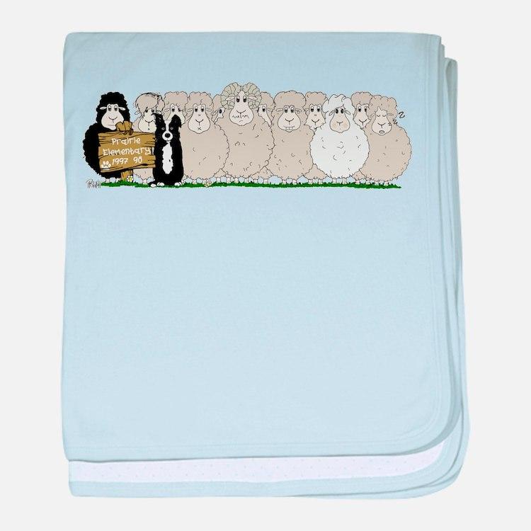 Prairie Elementary baby blanket