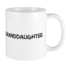 I Love My Marine Granddaughte Mug