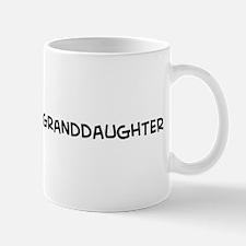 I Love My Marine Granddaughte Mug