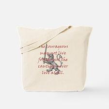 Lion Sword Courageous Tote Bag