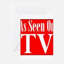 As Seen On TV Greeting Card