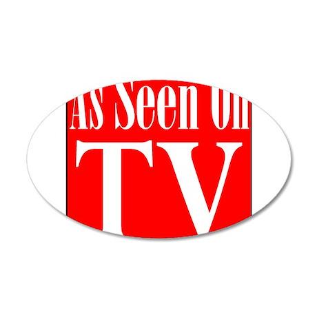 As Seen On TV 22x14 Oval Wall Peel