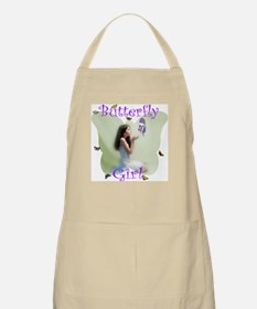 Butterfly Girl BBQ Apron