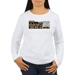 0327 - Spider in the cockpit Women's Long Sleeve T