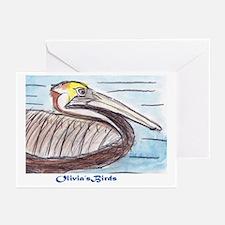 Save the Gulf: Olivia's Birds Greeting Cards (Pk o