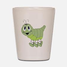 Inchworm Shot Glass