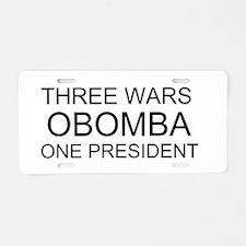 obomba Aluminum License Plate