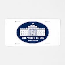 WHITE HOUSE Aluminum License Plate