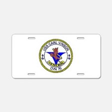 USS STENNIS Aluminum License Plate
