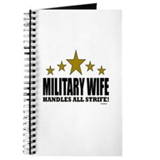 Military Wife Handles All Strife Journal