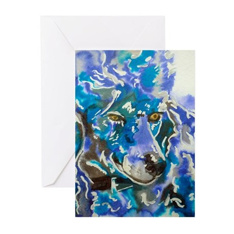 Poodle Prince Greeting Cards (Pk of 10)