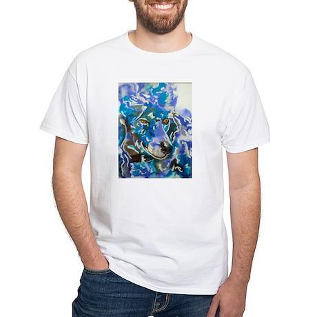 Poodle Prince White T-Shirt