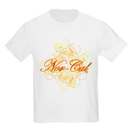 """'Nor-Cal"""" Kids Light T-Shirt"""