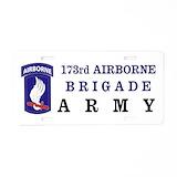 173rd airborne License Plates