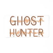 Ghost hunters Aluminum License Plate
