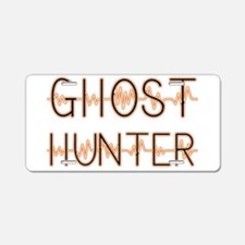 Funny Ghost hunter Aluminum License Plate