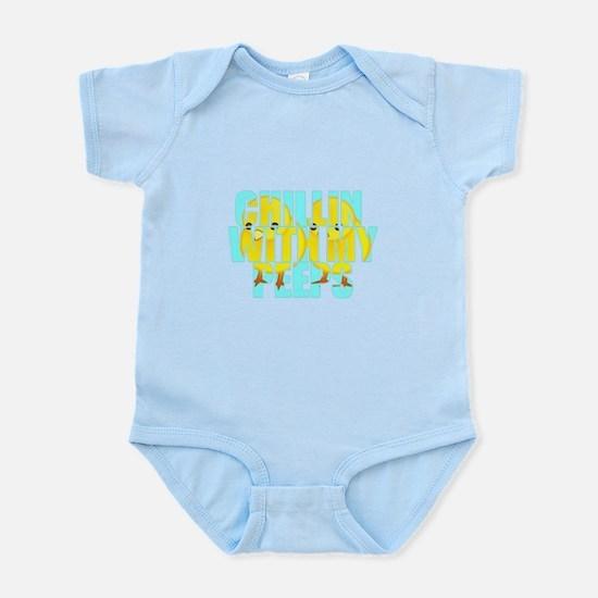 Chillin With My Peeps Infant Bodysuit