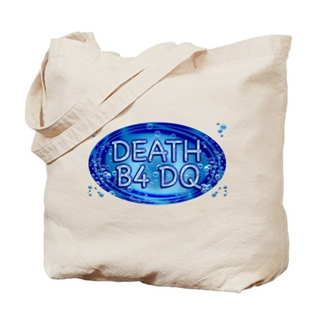 Death B4 DQ Tote Bag