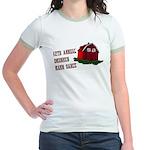 12th Annual Drunken Barn Danc Jr. Ringer T-Shirt