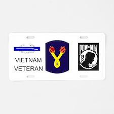 196th Aluminum License Plate