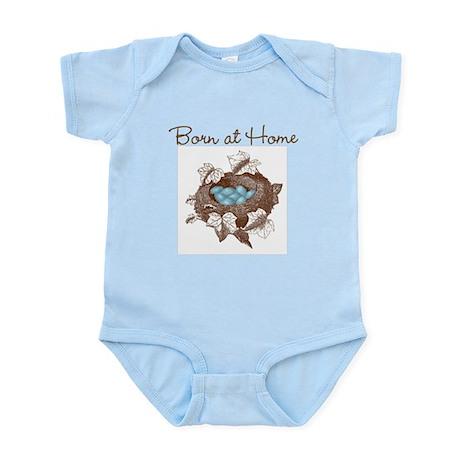 Born at Home baby shirt Infant Bodysuit