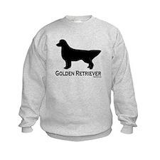 Golden Retriever Silhouette Sweatshirt