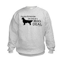 Big Deal - Golden Retriever Sweatshirt