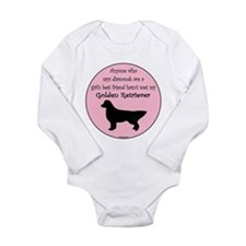 Girls Best Friend Long Sleeve Infant Bodysuit