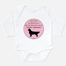 Girls Best Friend Long Sleeve Infant Bodysuit