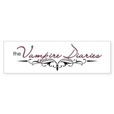 The Vampire Diaries Bumper Sticker