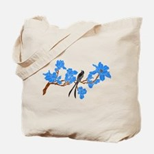 Funny Blossomed tree Tote Bag